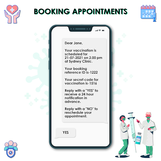 booking appointments
